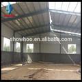 a prueba de agua la estructura de acero prefabricados de galpones de almacenamiento