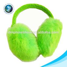 Chian winter plush earmuff headphones wireless