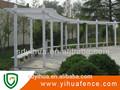 yihua baratos pvc jardín pasamanos de pérgola