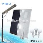 Long life span Solar Led Road Lamps 42w Replacable Battery Solar Street Light Esl