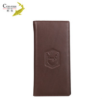 New products on china market online shopping cowhide leg oem leather brand leather wallet