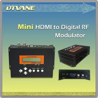 (DMB9591) H.264 hd Mini encoder dvb-t modulator chip with re-multiplexed external Transport Stream