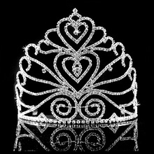 Tall large pageant tiara and crowns for big events FC800166