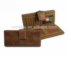 Hot selling Genuine leather women wallet/purse