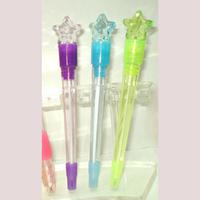 Popular hot light star ball pen