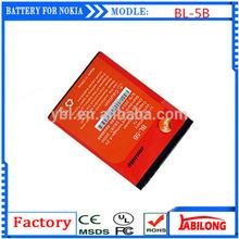 BL-5B 890mAh battery phone case for NOKIA 5300 5320 6120c 7360 6120ci 3220 3230 5070 5140 5140i 5200 5208 5320XM 5500 6020 6021
