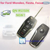 Qinuo new item universal flip key remote for Ford Mondeo, Fiesta, Focus 433Mhz or 315Mhz