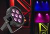 Best Price 7*10W RGBW 4IN1 LED Flat Par Light