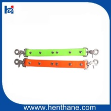 Hot Sell TPU Pure Color Double Dog Coupler for Dog Hunting