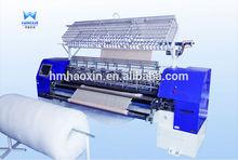 computerized multi needle quilting machine,lock stitch multi head quilting machine,quilt making machine