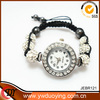 2014 New Products Women Jewelry Crystal Watch Bracelet round bead Bracelets