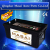 high quality 12v200ah sealed lead acid batteries accumulator battery with n200/190h52 12v 200ah