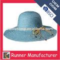 hecho en mexico de ala ancha decoración de paja sombreros de papel