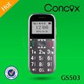 concox gs503 desbloqueado los teléfonos móviles para las personas de edad con las llamadas de emergencia y el seguimiento de funcion