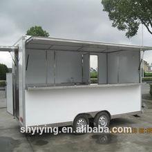 2014 YY-FS420 High quality food van with car wheels