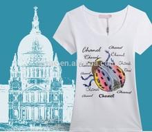 High quality women cotton t-shirt short sleeve casual tshirts 92 poylester 8 spandex tshirts