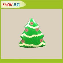China Promotional gift Halloween Christmas gift Hot sales small Christmas tree led flashing badge