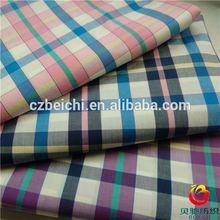 100% ctn fabric big checks
