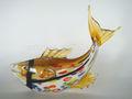 hecho a mano de cristal de pescado