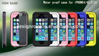for iphone 4 5 5s 5c waterproof shockproof phone case