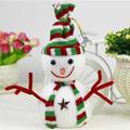 gran santa claus padre del árbol de navidad colorida decoración de navidad colgando decoración de papai noel