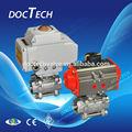 2 pulgadas de aceroinoxidable eléctrica de 3 vías válvula de bola, ac110-380v; dc24v; control de presión: 0-25bar, presi&