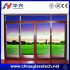 Energy efficient Sound insulation powder coated aluminium frame sliding glass window