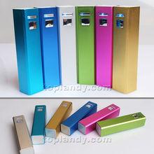 SINOTEK aluminium case moveable battery power bank silver color
