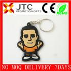 JTC promotion 2014 best sale BV Aduit wholesale flat/2d/3d custom rubber monkey/duck keychain china factory,keychain rubber-0096