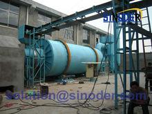 Professional cassava chips/sawdust/sand/wood chips drum rotary dryer-Sinoder Brand
