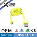 Sipu de alta velocidad colorido micro 3.0 usb cable para samsung