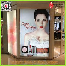 hard backlit film / inkjet backlit film printing /light box banner