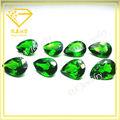 Piedra suelta esmeralda cristal pera para ornamento