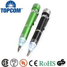 Work Tool Torch LED Light Ballpoint Pen