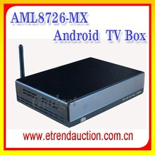 2015 Cheapest Smart Android DVB T2 with Amlogic Chipset, support 1G DDR+4G flash