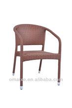 garden treasures poly rattan outdoor and indoor chair