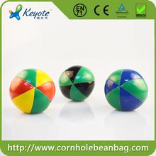 6cm Factory Price Spandex Lycra 3 Professional Juggling Ball