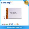 Model SUNB357195 rechargeable lipo battery 3.7V 2800mAh