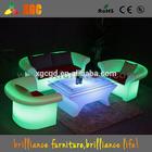 illuminated led sofa/Led bar sofa chairs