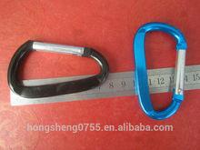 Big Size Aluminum Snap Hooks,Promotional Gifts Keychain Spring Carabiner Hooks