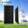 A grade high effiency TUV/UL/CE monocrystallline 200w pv solar panel solar cell