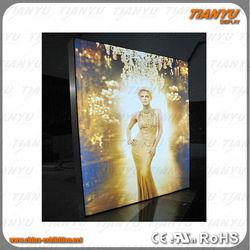 aluminium advertising led light frame