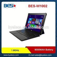 10 inch 2.0MP/2.0MP camera tablet pc thin windows 7