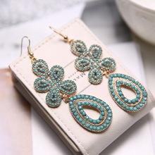 Rinhoo company produce ladies earrings designs pictures butterfly shape earring