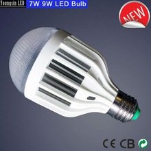 plastic cover 4000k natural white 7w led bulb luminaire