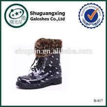 Bottes de cow - boy chaussures de course pas cher chaud / B-817