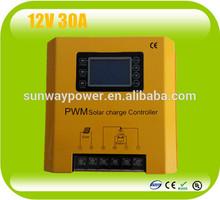 12v 30A high power pwm solar charging controller