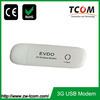 Support evdo 800MHz driver cdma 1x evdo usb modem for cdma1x