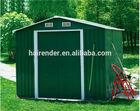 Waterproof steel garden shed