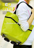 2014 foldable trolley tote bag with wheels